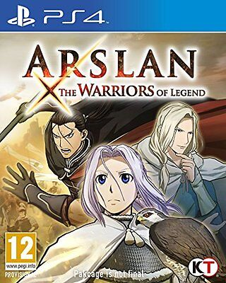 Arslan The Warriors of Legend (PS4) [NEW GAME]