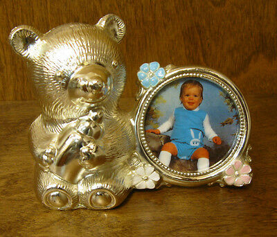 """BEAR BANK from Oneida #119980 with Picture Frame, 3.5"""" x 4.5"""" From Retail Store"""