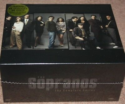 THE SOPRANOS - The Complete Series Brand New DVD, Box Disc Set