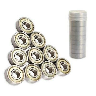 10Pcs 8x22x7mm Skateboard Scooter Ball Roller Ball Bearings Skate Bearings Wheel