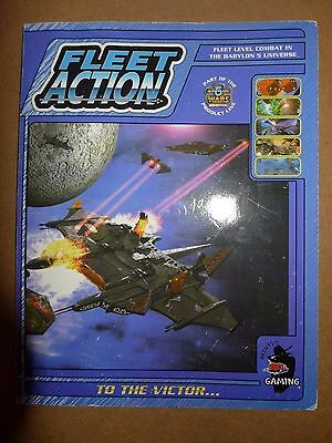 Babylon 5 Wars Fleet Action To the Victor... PB GD - Agents of Gaming 2000 DA42