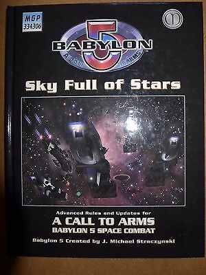 Babylon 5 A Call to Arms Sky Full of Stars HC VG - Mongoose Publishing 2006 DA39
