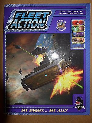 Babylon 5 Wars Fleet Action My Enemy...My Ally PB GD- Agents of Gaming 2000 DA43