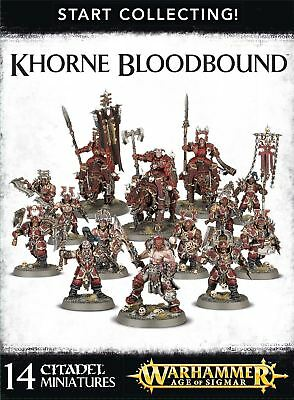 Start Collecting! - Khorne Bloodbound Games Workshop Age of Sigmar