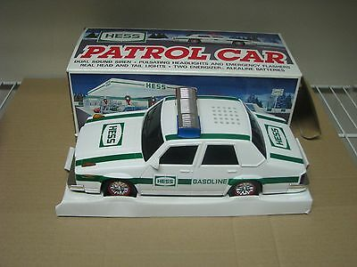 1993 Hess Toy Truck Patrol Car In Box