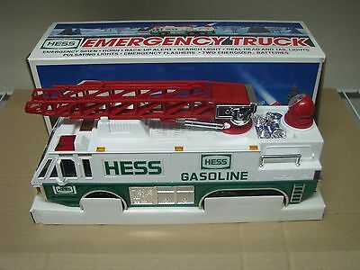 1996 Hess Toy Truck Emergency Truck In Box