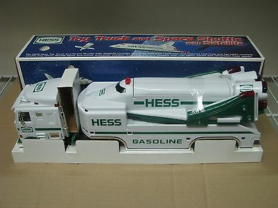 1999 HESS TOY TRUCK AND SPACE SHUTTLE w/ SATELLITE IN BOX