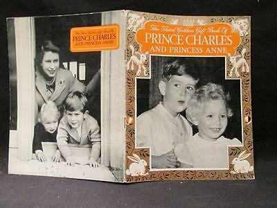 Prince Charles & Princess Anne Pitkin 3rd Golden Gift Book 1953