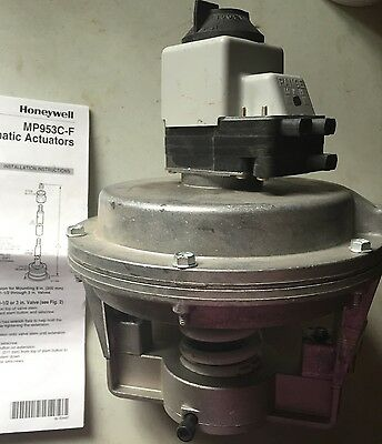 "Honeywell 8"" Diameter Pneumatic Valve Actuator Mp953E-1376"