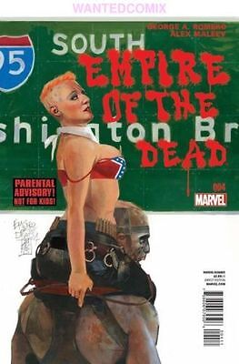 George Romeros Empire Of Dead Act One #4 (Of 5) Marvel Horror Comic Book New 1