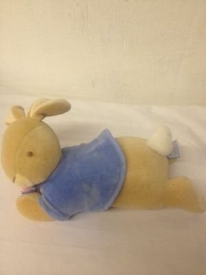 Eden Peter Rabbit Musical & Motion Brahms Lullaby Plush Stuffed Beatrix Potter