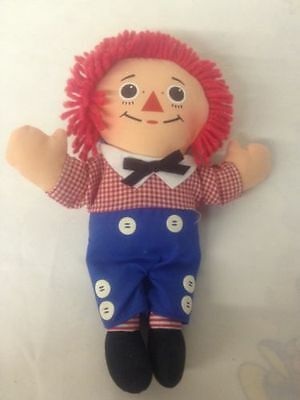"Playskool Raggedy Andy Plush Stuffed Doll 9"" 70137/70138"
