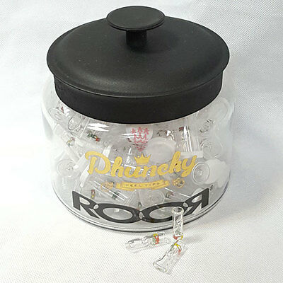 Cypress Hill's Phuncky Feel Tips by Roor Classic Clear Glass Tips phunky funky