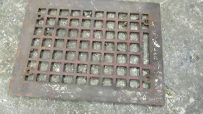 Vintage  Ornate-Victorian-Cast-Iron-Register-Heat Vent  Cover only for 10 X 7