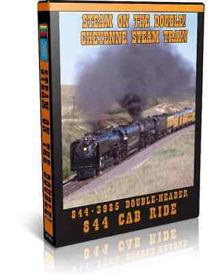 Steam on the Double! UP 844 & 3985 Doubleheader - Valhalla Video Train DVD