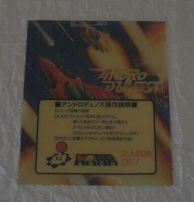 1992 Neo Geo Mvs Andro Dunos Jp Mini Marquee