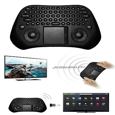 Wireless Mini Fly Air Mouse USB Keyboard Touchpad For Android TV Box PC Computer