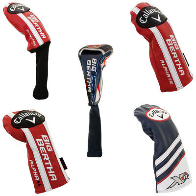 Callaway Golf Head Covers - Driver Fairway Hybrid Headcover Replacements