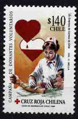 1103 Chile 1999 Red Cross MNH
