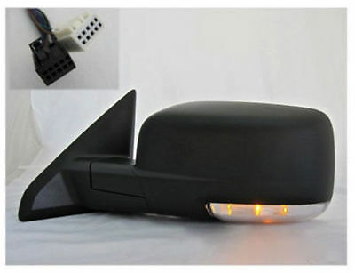2009-2010 Dodge Ram Driver Side Mirror Power Heated Puddle Lamp Turn Signal