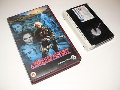 Betamax Video ~ A Breed Apart ~ Rutger Hauer ~ Large Case Ex-Rental ~ Guild