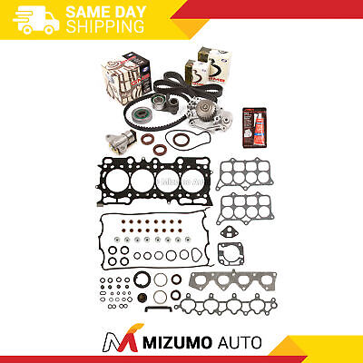 Fit Head Gasket Set Timing Belt Kit Water Pump 97-01 Honda Prelude VTec H22A4