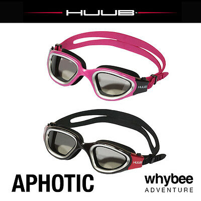 Huub Aphotic Triathlon Performance Swimming Goggles Unisex All Colours & Sizes