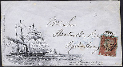 1851 Bradshaw and Blacklock State 4 Used London to Aylesbury