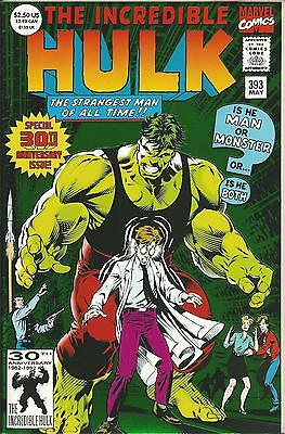 Incredible Hulk #393 (Double-Sized)  (Marvel) Vf/nm