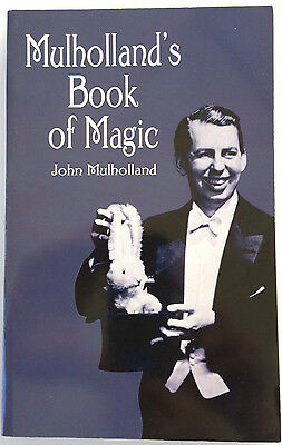 New MULHOLLANDS BOOK OF MAGIC Trick Stage Close Up Secrets Money Cards Mental