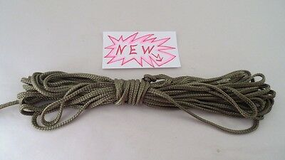 NOS 50' 50 Ft OD Green US Military Paracord Para Cord - Cargo Chute Parachute