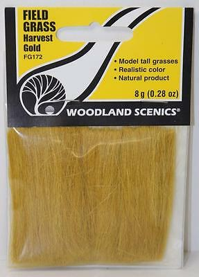 OO HO Scale Woodland Scenics Harvest Gold Field Grass FG172 FNQHobbys