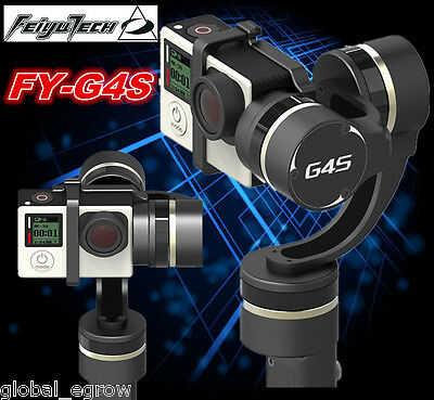 Feiyu Tech FY-G4S 360° Moving 3-Axis Handheld Stabilizzata Gimbal per Gopro 4/3+