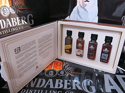 Bundaberg Rum The Greatest Story Ever Told Booklet, With 4 Minis, Rare set.