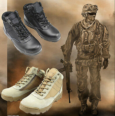 7157 Men's Low-top Special Forces Tactical Military Boots SWAT Army Combat Shoes