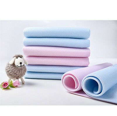 1pc Bamboo Washable Baby Infant Urine Mat Waterproof Changing Diaper Bed Pad