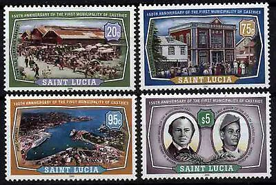 1152 St. Lucia 2000 150th anniv Municipality of Castries MNH