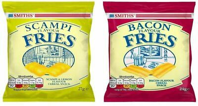 Smiths Pub Snacks Scampi Fries, Bacon Fries, Cheese Moments or mixed