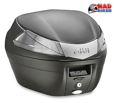 Givi B34NT Tech  Motorcycle Scooter Top Box luggage Case - 34L Free UK Delivery