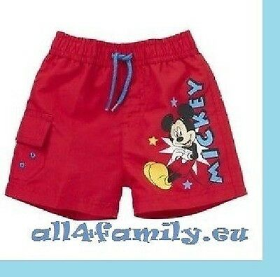 Disney süße Badeshorts Mickey Mouse Gr. 68/74 tolles Design Magic Swim Shorts