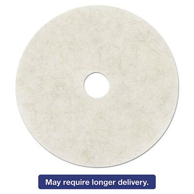 3M Ultra High-Speed Natural Blend Floor Burnishing Pads 3300 27-In Natural White
