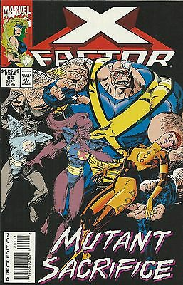 Marvel X-Factor comic issue 94