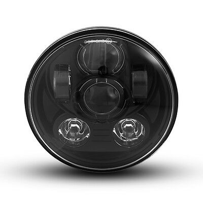 "5.75"" Black Projector LED Headlight Insert for Harley Davidson Sportster Models"