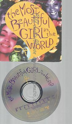 Cd--Prince--The Most Beautiful Girl In The World -Cd Single 170 812-Import