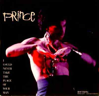 "PRINCE - I Could Never Take The Place Of Your Man (12"") (G-/G-)"