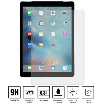 100% Genuine Tempered Glass LCD Screen Protector Film For Apple iPad Pro 9.7""