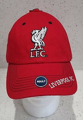 Liverpool FC Official Baseball Cap - Red - Brand 47