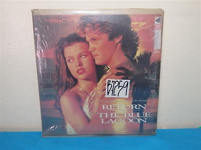 Columbia Pictures Presents RETURN TO THE BLUE LAGOON Laser Disc