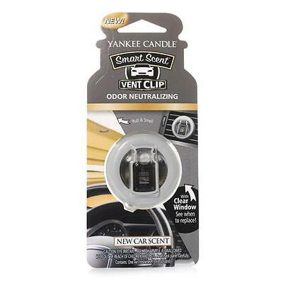 Yankee Candle Autoduft Vent Clip New Car Scent