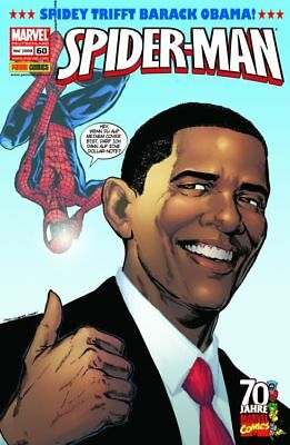 SPIDER-MAN #60 BARACK OBAMA SPECIAL           +deutsch+